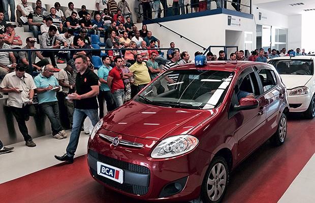 Leilão de carros (Foto: BCA Brasil)