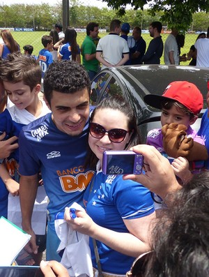 Treino do Cruzeiro (Foto: Carlos Mota)