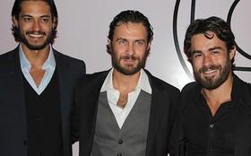 Galãs de Amor Eterno Amor chamam a atenção com diferentes estilos de barba