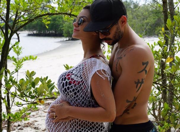 Kelly Key e Mico Freitas (Foto: Acervo Pessoal)
