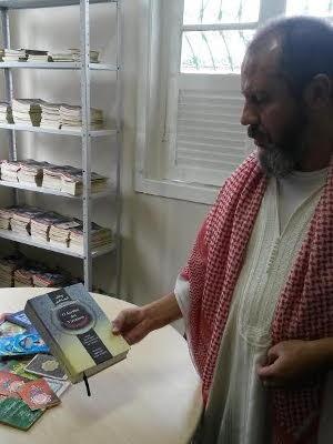 Segundo imam Said, Jesus é um profeta respeitado no islamismo (Foto: Ingo Müller/ G1)
