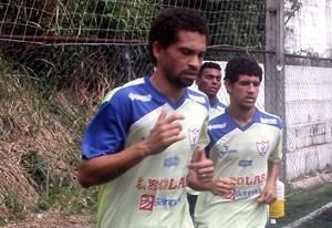Gilmar durante treino no Águia (Foto: Divulgação/Site oficial do Águia)