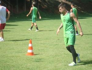 Villa Nova-MG treinou no interior paulista  (Foto: Divulgação/ Villa Nova)