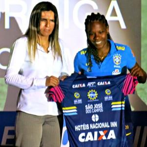 Formiga, draft Brasileirão feminino (Foto: Cintia Barlem)