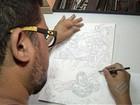 Desenhista do PA cria história de super-heróis que chegará ao cinema