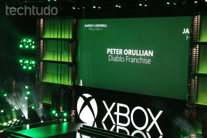 Começa Conferência do Xbox no maior evento de games do mundo, em Los Angeles (Foto: Isadora Díaz / TechTudo)