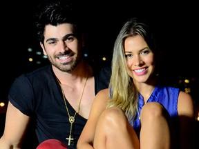 Ex-BBBs Rodrigão e Adriana (foto de arquivo) (Foto: Roberto Teixeira/ EGO)