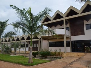 Atividades acontecem no Campus da Unir em Vilhena, até sexta-feira, 5 (Foto: Lauane Sena/G1)