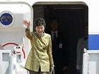 Presidente sul-coreana viaja aos EUA para se reunir com Barack Obama