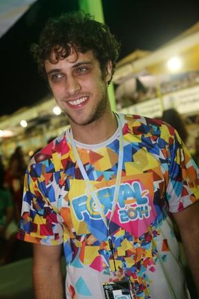 Ronny Kriwat em micareta em Fortaleza, no Ceará (Foto: Alana Andrade/ Divulgação)