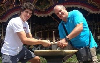 Apoio e provocação: Marcelo Mendez enfrenta o filho no Mineiro de Vôlei