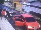 Família de PRF é mantida refém no durante assalto no Piauí; veja vídeo