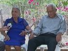 'Procurar amor e paz' é lição de idoso casado há 70 anos com a prima em PE