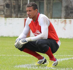 Edivandro Lima goleiro Rio Branco (Foto: João Paulo Maia)