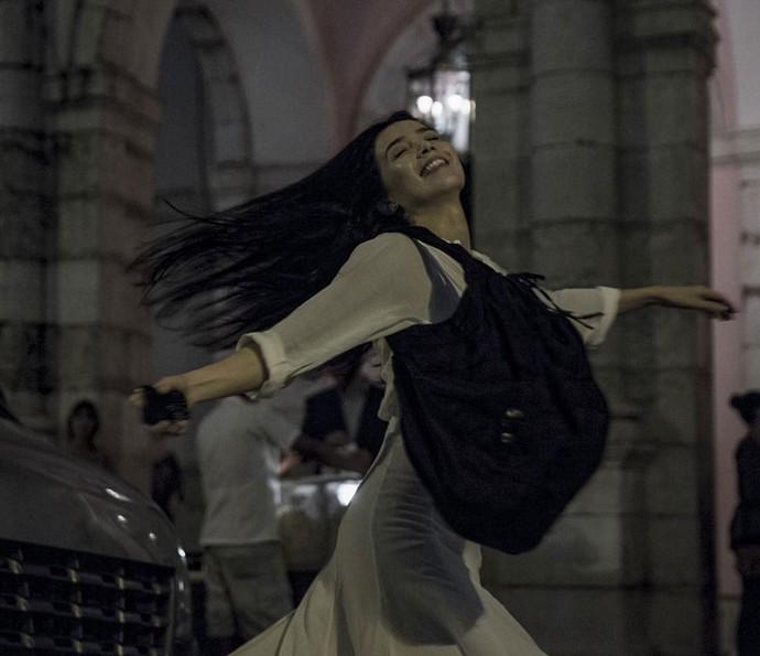 Beatriz tinha acabado de sair do teatro quando o acidente ocorreu (Foto: Gabriel Nascimento/Gshow)