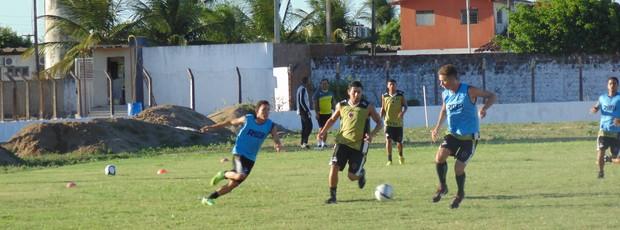 Botafogo-PB realiza último treino na Maravilha do Contorno antes de confronto contra o CSP (Foto: Divulgação / Botafogo-PB)