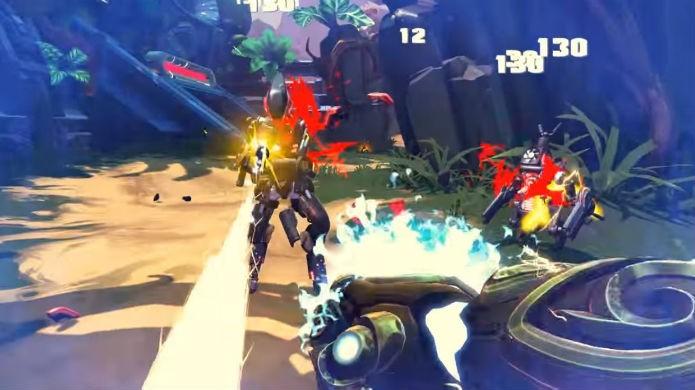 Cada herói de Battleborn tem seus próprios poderes (Foto: Divulgação/Gearbox)