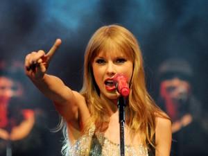 """Taylor Swift foi eleita a mulher do ano pela """"Billboard"""" e celebridade teen mais bem paga do mundo (Foto: Alexandre Durão / G1)"""