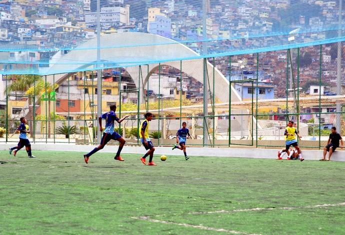 Equipe de futebol 7 rocinha (Foto: Divulgação / Governo do Estado)