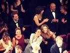 Taís Araújo e Grazi Massafera posam em foto dentro de cinema em Cannes