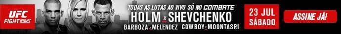 Banner UFC Chicago (Foto: Divulgação)