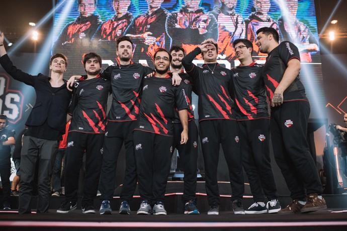 Red Canids final CBLoL 1° Split 2017 (Foto: Divulgação / Riot)