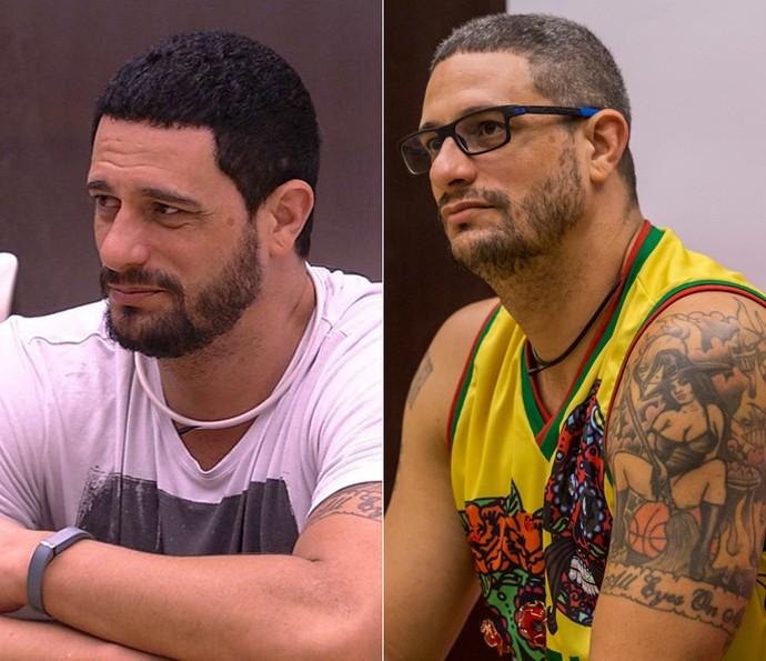 O ex-brother em mais duas versões (Foto: TV Globo)