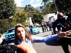 Fernanda Gentil se despede de Teresópolis e brinca: 'Tô assustadora'