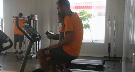 confiante (Douglas Araújo/Assessoria do CRB)