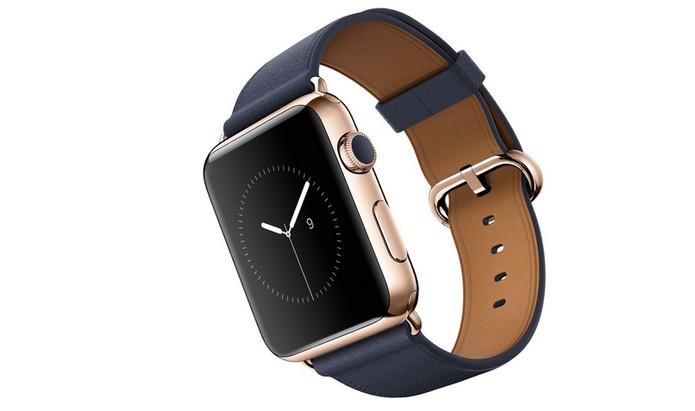Watch Edition com ouro rosado de 18 quilates (Foto: Divulgação/Apple)
