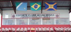 Estádio Ninho da Águia, em Rio Brilhante, casa do Águia Negra (Foto: Divulgação/FFMS)