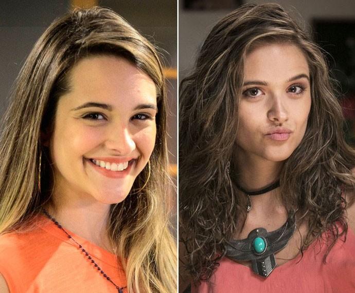 Fatinha e Cassandra: personagens incríveis de Juliana Paiva (Foto: Gshow)