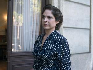 Drica Moraes vive Alzira, filha de Getúlio Vargas, no filme 'Getúlio' (Foto: Divulgação)