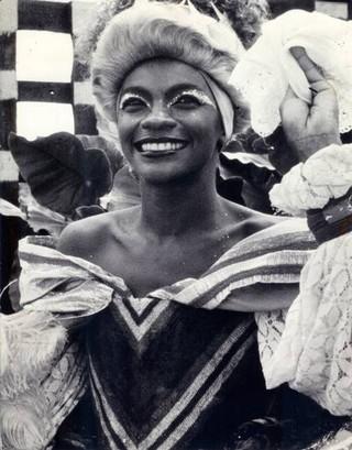 Zezé Motta atuando em Chica da SIlva (Foto: Arquivo)