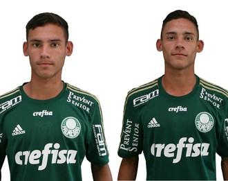 Everton, Ueslei, gêmeos, Palmeiras (Foto: Divulgação / SE Palmeiras)