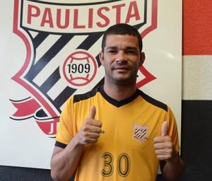 Jaílson, atacante do Paulista (Foto: Divulgação / Paulista FC)