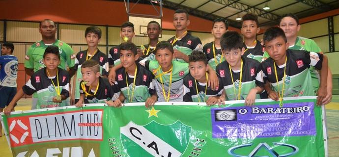 Futsal Sub-13 Roraima (Foto: Nailson Wapichana)