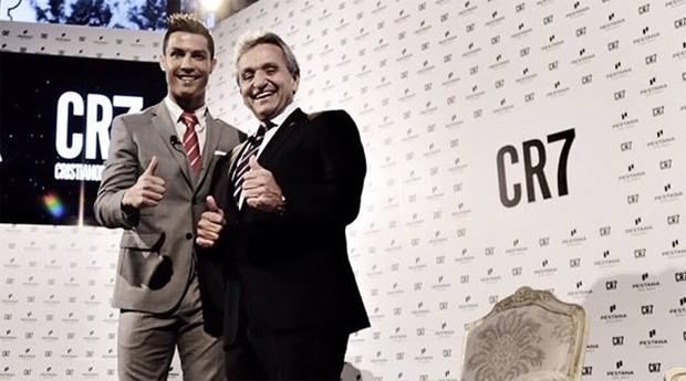 Cristiano Ronaldo inaugura hotel em Lisboa (Foto: Reprodução)