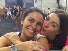 Giovanna Antonelli e Luma Costa posam juntas após crossfit: 'Comadre'
