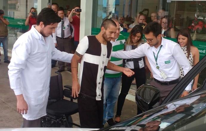 Alan Ruschel Chapecoense (Foto: Marcelo Siqueira/RBS TV)