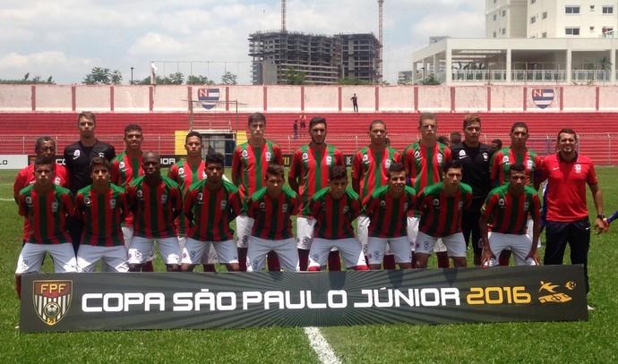 Guaicurus na Copa São Paulo de Futebol Júnior (Foto: Divulgação/Guaicurus)