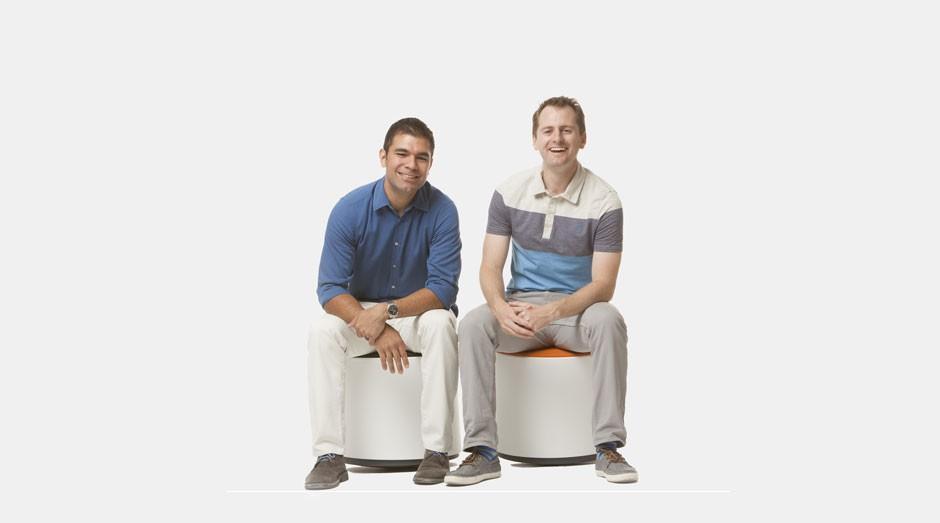Jeremy Rincon e Robby Whites, os fundadores da Clarus Glassboards (Foto: Divulgação/Clarus Glasboards)
