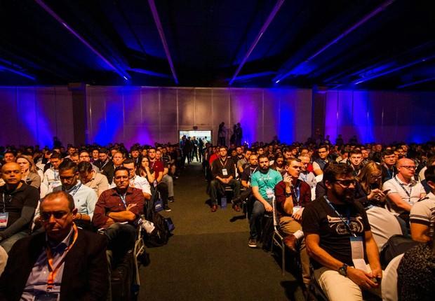 Cerimônia de anúncio das 16 startups selecionadas para o Pitch Gov (Foto: Divulgação)