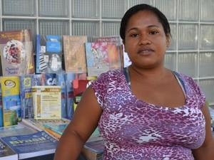 Hisaine diz que Aracaju é uma cidade para 'criar raízes' (Foto: Marina Fontenele/G1)