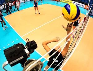 teste câmeras auxílio arbitragem vôlei Superliga (Foto: Marcos Ribolli / Globoesporte.com)