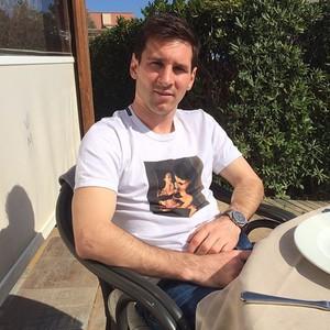Messi posa no instagram (Foto: Reprodução / Instagram )