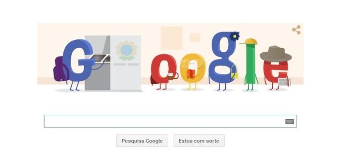 Segundo Turno das Eleições 2014 ganha novo Doodle do Google (Foto: Reprodução/Google)