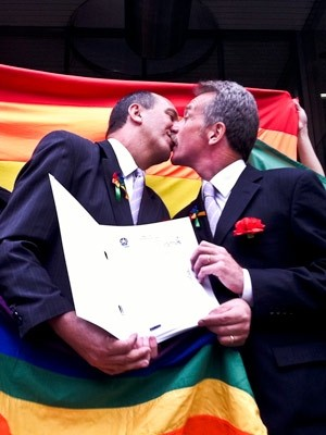 Toni Reis oficializou união em 2012 (Foto: Bibiana Dionísio/ G1 PR)
