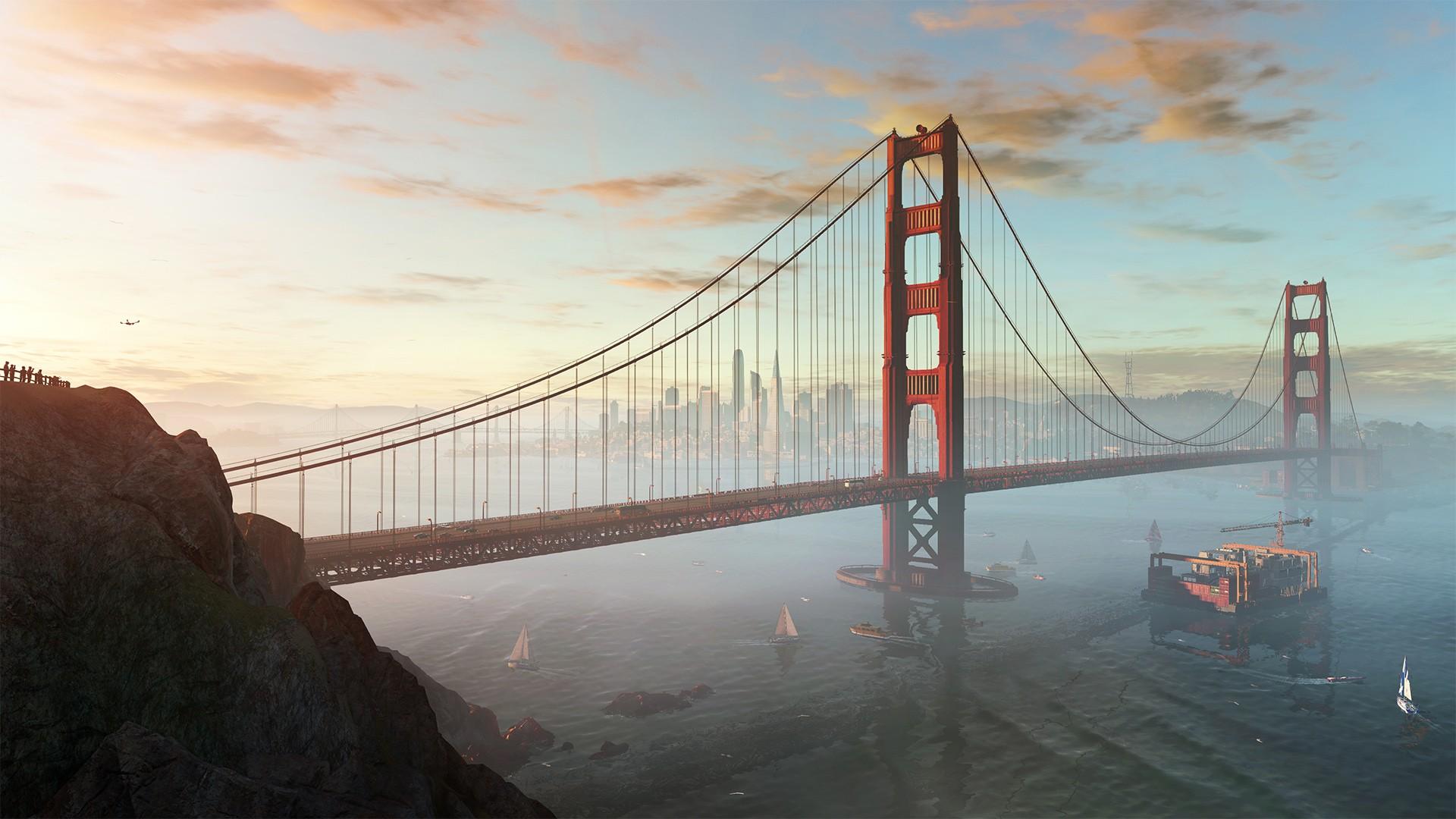 Bem representada no game, São Francisco não perdeu nem mesmo sua neblina característica (Foto: Divulgação)