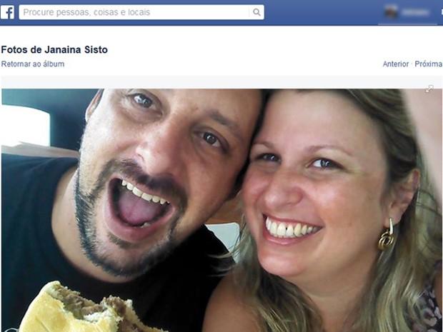 Segundo a Polícia Civil, marido confessou ter matado Janaína e escondido corpo em canavial (Foto: Reprodução/EPTV)